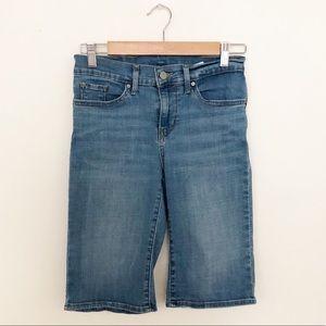 Levi's Denim Pedal Pusher Shorts